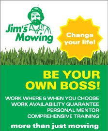 Jim's Lawn Mowing - Change your Life