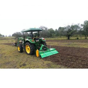 Farm Tractor Rotary Hoeing