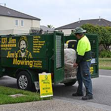 jims-mowing-loading-rubbish after garden clean-up