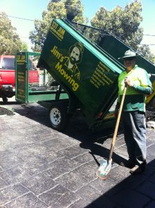 Jim's Mowing-tipper-trailer-great-for-a-garden-clean-up
