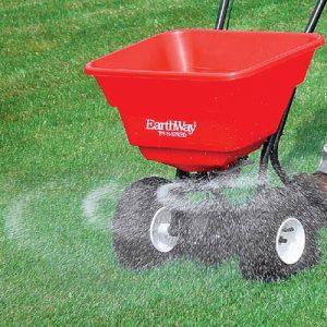 Push Fertilizer Spreader